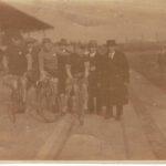 1920er anfang 30er Schwelgern-bahn-3. Radler v.recht Theismann