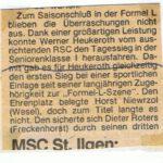 1985 finish