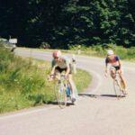 Horst überholt Berhard Lingnau