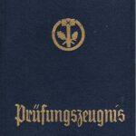 1957 Gesellenbrief
